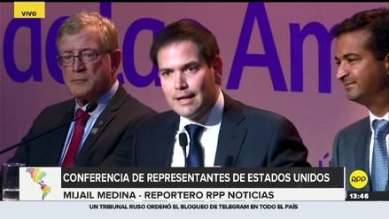 Estados Unidos: senador Marco Rubio pidió que Maduro permita el ingreso de ayuda humanitaria