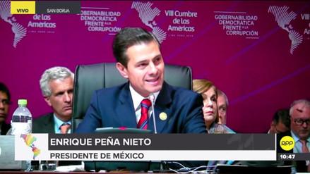 """Peña Nieto pidió una solución """"pronta y pacífica"""" a la crisis en Venezuela"""