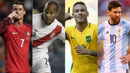 Perú: los 32 capitanes de las selecciones rumbo a Rusia 2018