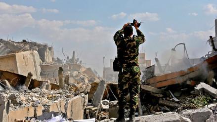 Empleados de centro bombardeado en Siria aseguran que no producían armas