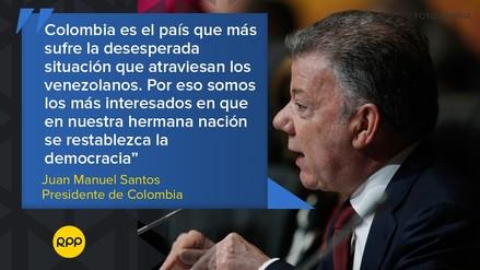 Cumbre de las Américas: Las frases de los presidentes sobre la crisis en Venezuela