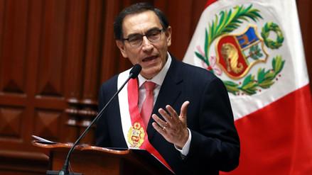 Presidente Martín Vizcarra presidirá Gore Ejecutivo Extraordinario
