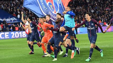 PSG ganó el título de la Ligue 1 después de golear 7-1 al Mónaco