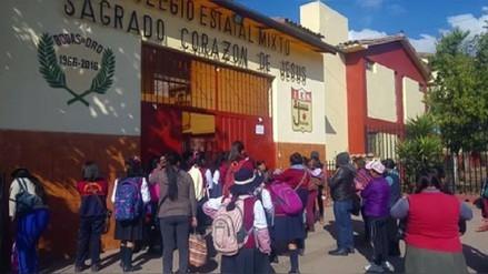 La Dirección Regional de Educación en Junín dispuso el retraso del horario escolar por heladas