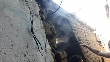 Incendio en vivienda dejó pérdidas por 3 000 soles