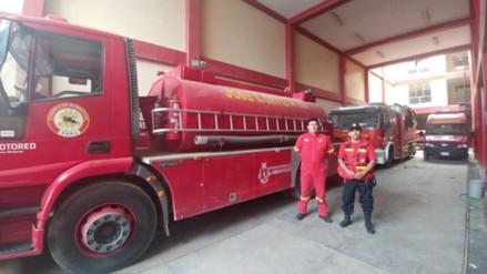 Vehículos de Bomberos de Leonardo Ortiz sin gasolina ni baterías