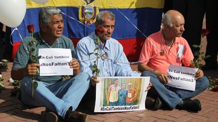 Ocho detenidos por el asesinato de los periodistas ecuatorianos, entre ellos un familiar de 'Guacho'