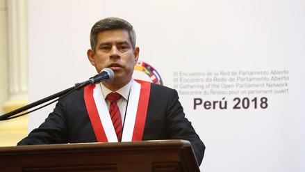 Luis Galarreta negó haber participado en la entrega formal de los audios de Mamani a la Fiscalía
