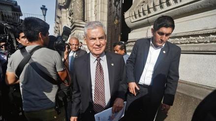 Premier Villanueva iniciará diálogos con bancadas desde este martes