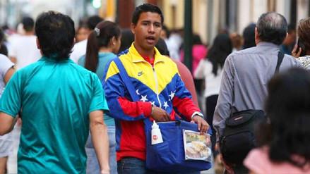 Migración venezolana no es la causa del desempleo en Perú, señalan