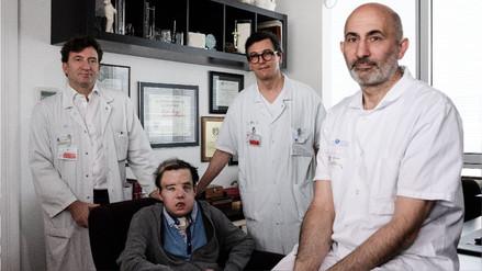 La historia del primer hombre sometido a dos trasplantes de cara