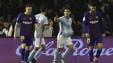 Barcelona no aprovechó su ventaja y empató 2-2 con Celta por la Liga Santander