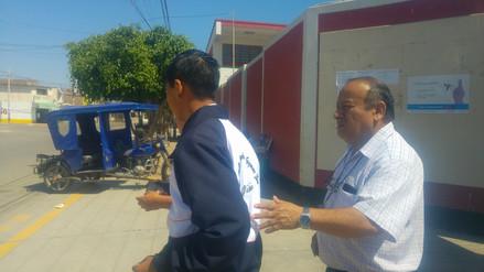 Escolar se tragó aguja cuando recibía clases en colegio de Chiclayo