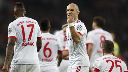 Bayern Munich aplastó al Leverkusen y pasó a la final de la Copa de Alemania