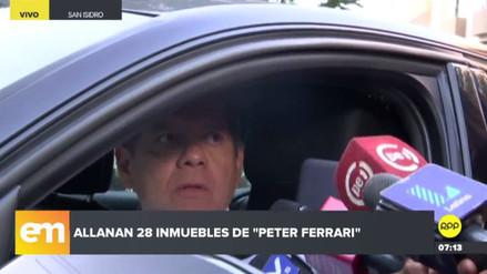 """Notario negó vínculos con 'Peter Ferrari' y tildó de """"abuso"""" el allanamiento de su propiedad"""