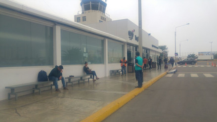 Suspenden vuelos en aeropuerto de Trujillo por densa neblina