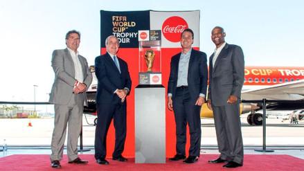 El trofeo del Mundial recorre Estados Unidos en su camino a Rusia