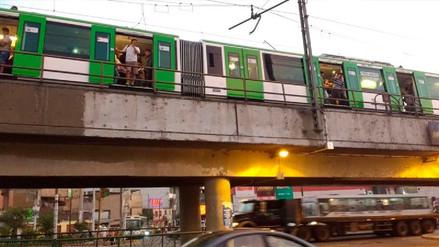 Falla en el sistema eléctrico generó colapso del Metro de Lima