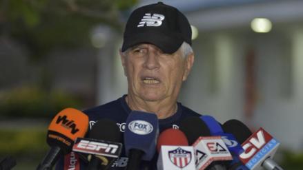 El duro mensaje del técnico de Junior ante las lesiones de Alberto Rodríguez