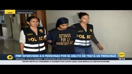 La Policía capturó a integrantes de secta religiosa por trata de personas en Villa El Salvador