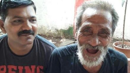 Hombre se reencontró con su familia luego de 40 años gracias a video que se volvió viral