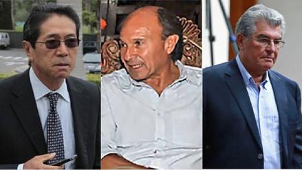 Anulan impedimento de salida del país para Yoshiyama, Bedoya y Briceño