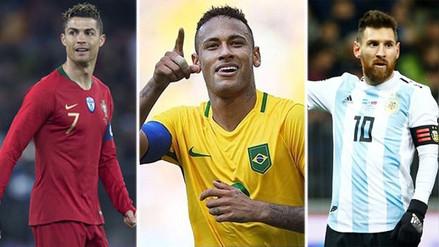 Estos son los jugadores que brillarán en el Mundial para Neymar