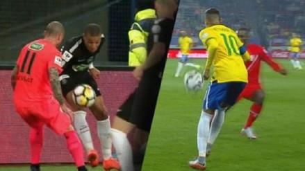 Como Neymar a Advíncula: el espectacular 'sombrerito' de Mbappé