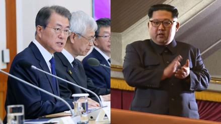 Las dos Coreas abren el teléfono rojo entre sus líderes
