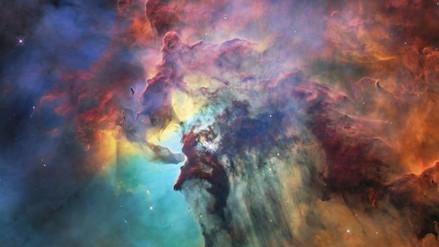 El Hubble celebró sus 28 años con una colorida foto de la Nebulosa del Lago