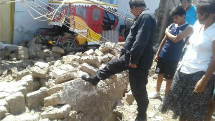 Una maestra murió tras desplomarse pared de una casa donde dictaba clases