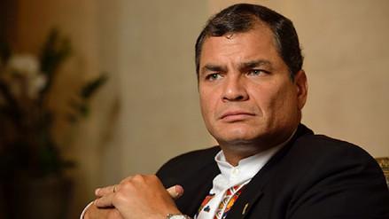 """Rafael Correa calificó de """"cortina de humo"""" investigación que lo vincula con las FARC"""