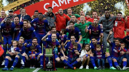 Barcelona apabulló al Sevilla y se consagró campeón de la Copa del Rey