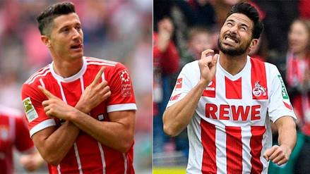 Robert Lewandowski rompió récord establecido por Claudio Pizarro en Bundesliga