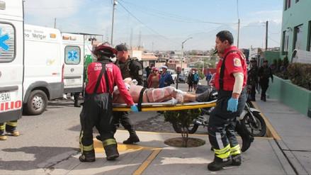Detenido sufrió quemaduras durante un incendio en carceleta de comisaría en Arequipa