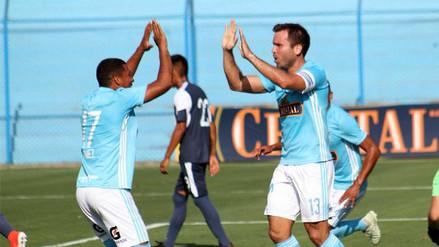 Sporting Cristal con un equipo alterno, goleó a San Martín por el Torneo de Verano