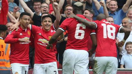 Manchester United venció al Tottenham y se metió en la final de la Copa FA