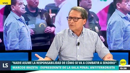 """Marcos Ibazeta: """"Nadie asume su responsabilidad en cómo se va a combatir a Sendero Luminoso"""""""
