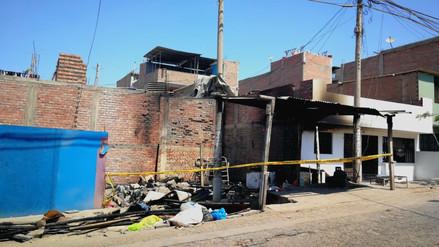 Dos niñas murieron durante un incendio al quedar atrapadas en su propia vivienda