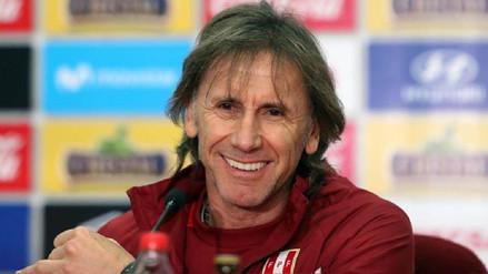 Ricardo Gareca tiene un 98% de aprobación como DT de la Selección Peruana