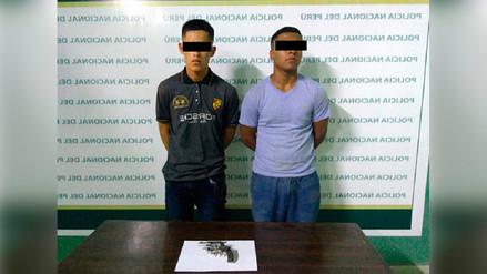Capturan en Puente Piedra a dos personas acusadas de integrar banda dedicada al robo agravado