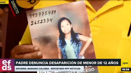 Familia busca a hija de 12 años desaparecida hace cuatro días en Lince