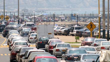 Accesos a la Costa Verde estarán cerrados hasta las 5 de la tarde