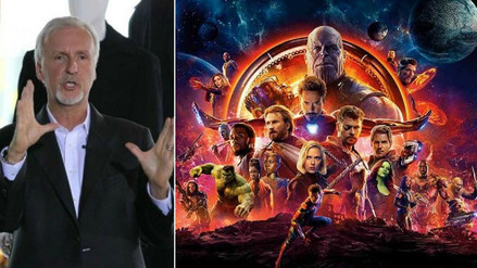 """Avengers Infinity War"": James Cameron espera que el público se canse de Los Vengadores"
