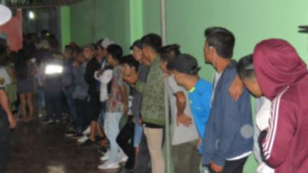Intervienen a más de 150 adolescentes en discoteca de El Porvenir