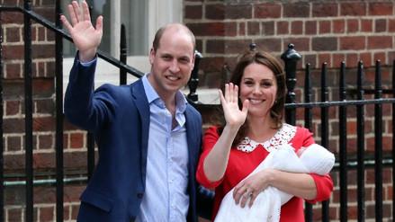 William y Kate Middleton presentaron a su tercer hijo
