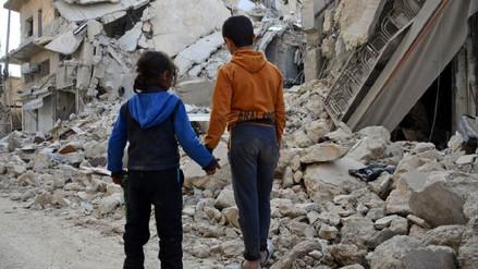 Al menos 2,8 millones de menores llevan 7 años sin escolarizar por la guerra en Siria
