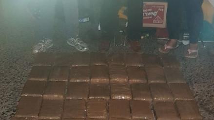 68 kilos de marihuana fueron incautados en Arequipa