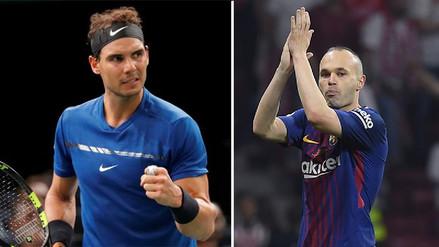 Rafael Nadal sobre Andrés Iniesta: