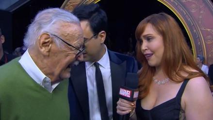 """""""Avengers Infinity War"""": Stan Lee reapareció en el estreno de la película"""
